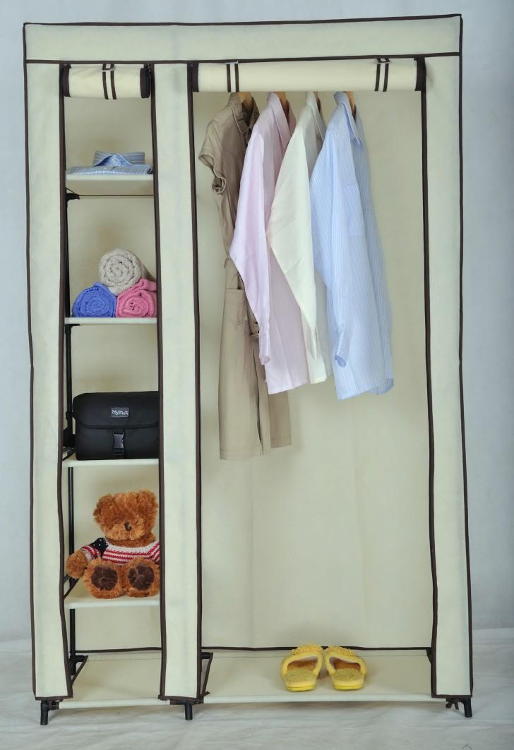 Permalink to Metal Portable Closet Wardrobe