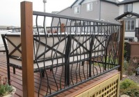 Metal Railings For Decks Price