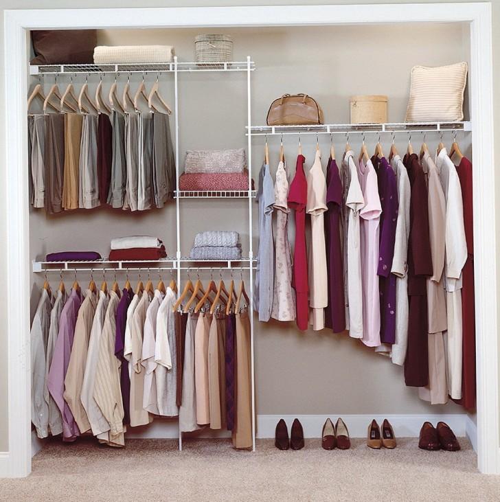 Permalink to Metal Wardrobe Closet Home Organization