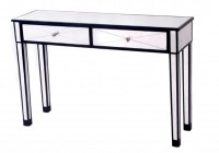 Mirror Console Table With Drawers