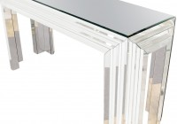 Mirror Console Table With O Frame