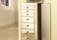 Mirror Jewelry Box Armoire