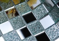 Mirror Mosaic Tiles Bathroom