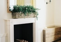Mirror Over Fireplace Design Ideas