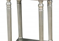 Mirrored Accent Table Canada