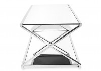 mirrored accent table sale