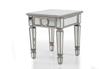 Mirrored End Table Pier One