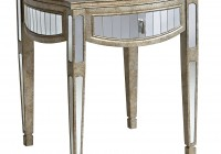 Mirrored End Tables With Drawers