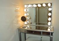 Mirrored Makeup Vanity Table