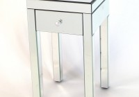 Mirrored Night Stand Tables