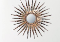 Mirrored Sunburst Wall Art
