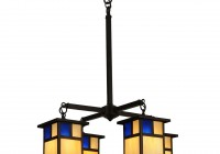 Mission Style Chandelier Lighting