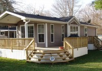Mobile Home Front Decks