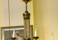Modern Art Deco Chandelier
