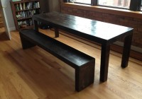 Modern Bench Dining Table