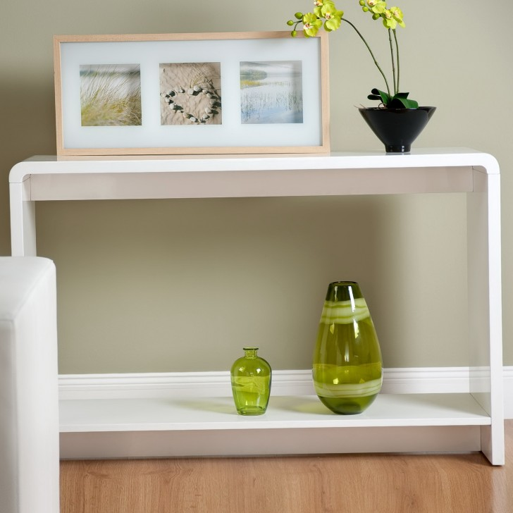 Permalink to Modern Console Table With Shelf