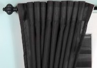 Modern Curtain Rods Black