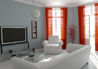 Modern Curtains For Living Room Pictures
