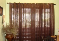 modern curtains for sliding doors
