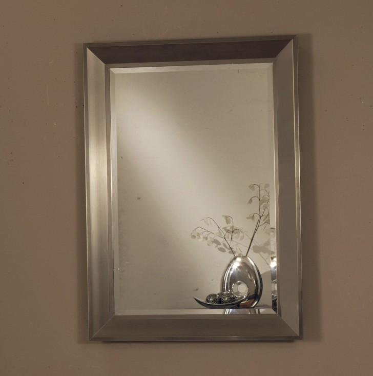 Permalink to Modern Silver Framed Mirror