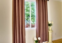Modern Window Curtains Double