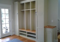 Mudroom Lockers With Bench Plans