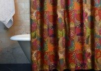 Multi Color Shower Curtains