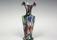 Multi Colored Glass Vases