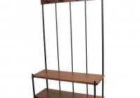 Narrow Coat Rack With Bench