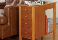 Narrow Side Table With Drawer