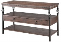 Narrow Side Table With Storage