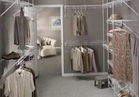Narrow Walk In Closet Organizers