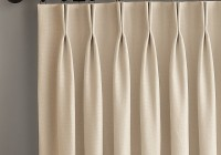 natural weave faux linen curtains