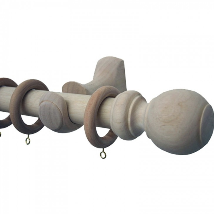 Permalink to Natural Wood Curtain Rods