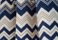 Navy Blue And Grey Curtains