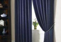 Navy Blue Blackout Curtains Walmart