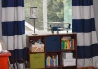 Navy Blue Curtains For Nursery