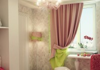 corner window curtain rod set next pink and green curtains