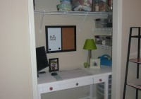 Office In A Closet Design