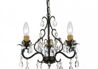 Oil Rubbed Bronze And Crystal Chandelier