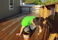 Olympic Redwood Deck Stain