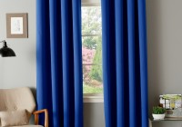 Orange Grommet Curtain Panels