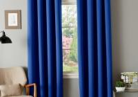 Orange Grommet Curtain Panels
