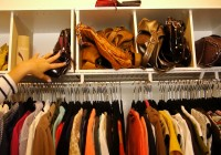 Organize Purses In Your Closet