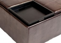 Ottoman With Tray Top