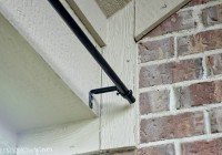 Outdoor Curtain Rod Brackets