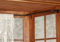 Outdoor Curtain Rod With Post