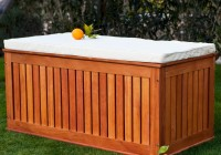 Outdoor Deck Box Plans