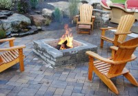 Outdoor Deck Fire Pit