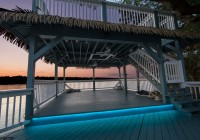 Outdoor Deck Floor Lighting